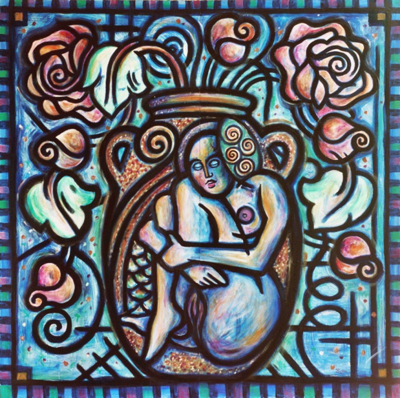Femme Vase